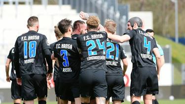 Hansa Rostock blickt dem Aufstieg in die 2. Bundesliga entgegen