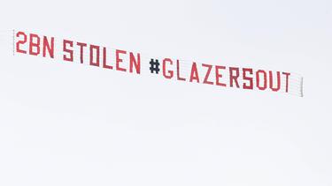 Die Fans von Manchester United verbreiteten eine eindeutige Botschaft