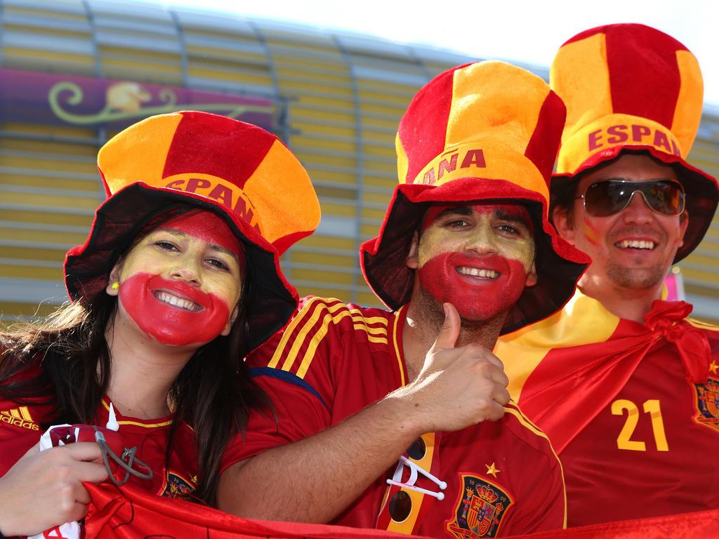 Как выглядят коренные испанцы фото