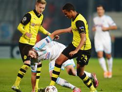 Marin Sarr (r.) könnte auch gegen Hoffenheim wieder spielen