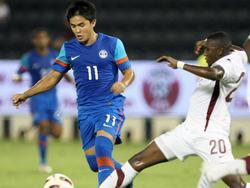 Indien schlägt Katar mit 2:1