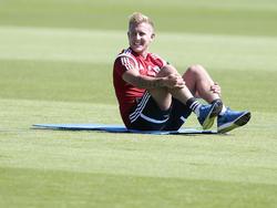 Lewis Holtby ist beim HSV ins Training zurückgekehrt