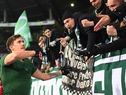 Werders Max Kruse hat eine beeindruckende HSV-Bilanz