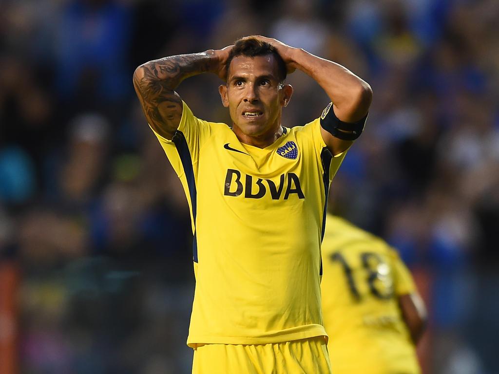 Carlos Tévez wurde ein Spiel im Gefängnis zum Verhängnis