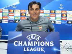 Sevilla-Coach Vincenzo Montella hat noch Hoffnung