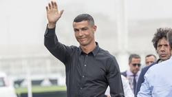 Cristiano Ronaldo wurde am Montag in Turin vorgestellt