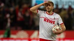 Simon Terodde vom 1. FC Köln hat einen Rekord im Blick