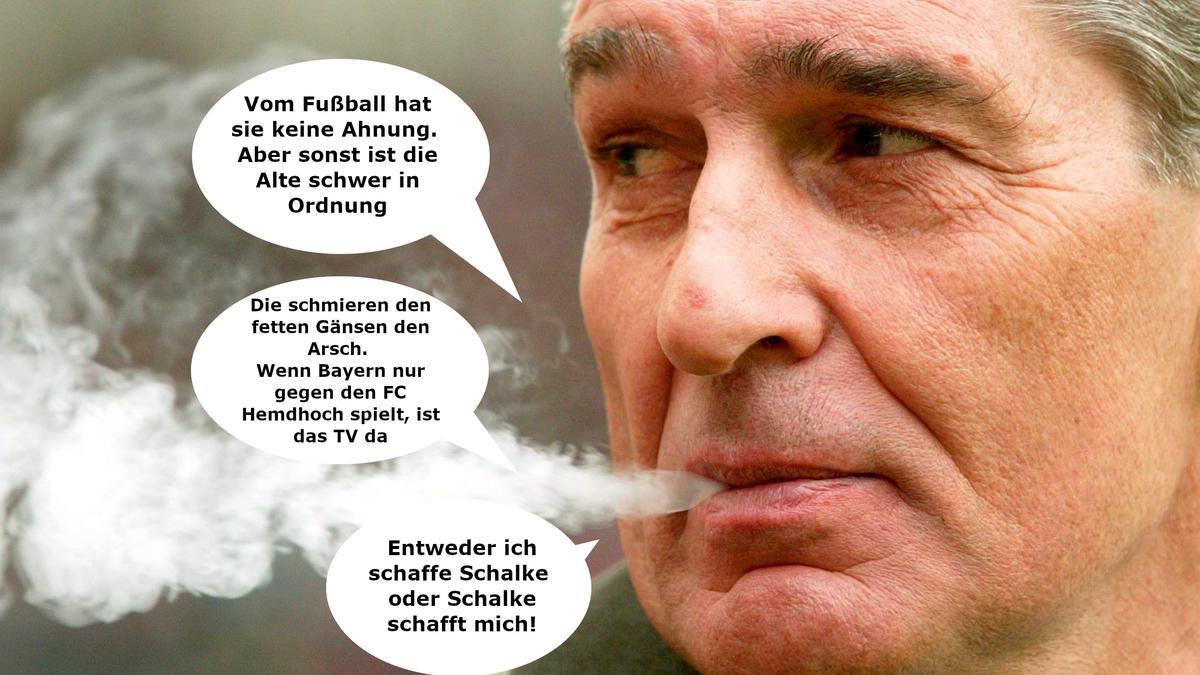 Rudi Assauer erlangte auf Schalke Legendenstatus