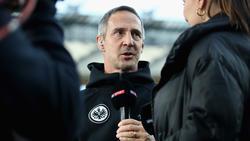 Adi Hütter und die Eintracht treten in der Liga auf der Stelle