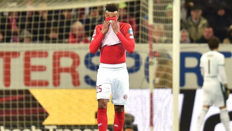 Jean-Philippe Gbamin stand aufgrund eines Fehlverhaltens nicht im Kader des FSV Mainz 05