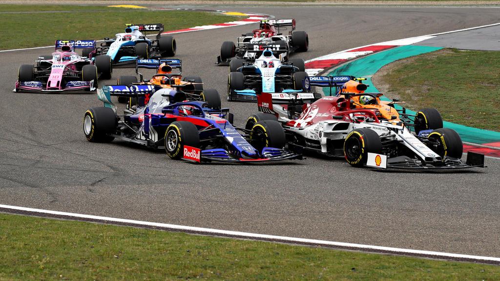 Glück gehabt: Kimi Räikkönen beendete das Rennen ohne Defekt