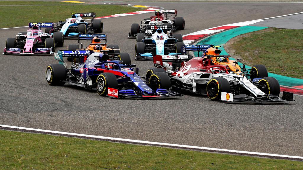 Räikkönen zeigte im Rennen Nerven