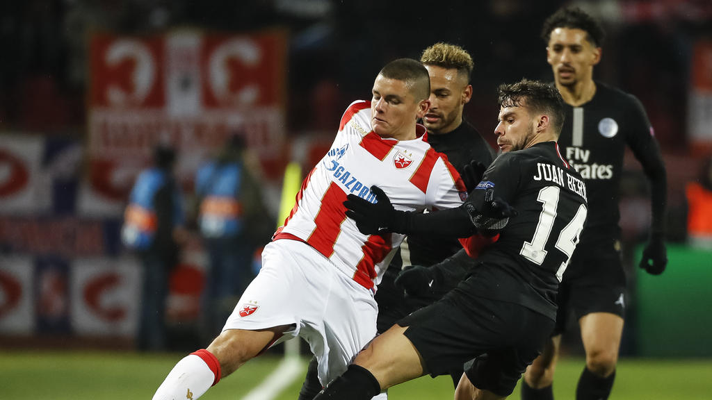 Joveljic spielte bereits gegen Neymar und Co. in der Champions League