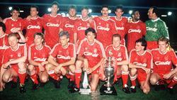 Die Meistermannschaft des FC Liverpool von 1990