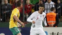 Cristiano Ronaldo erzielt Viererpack für Portugal