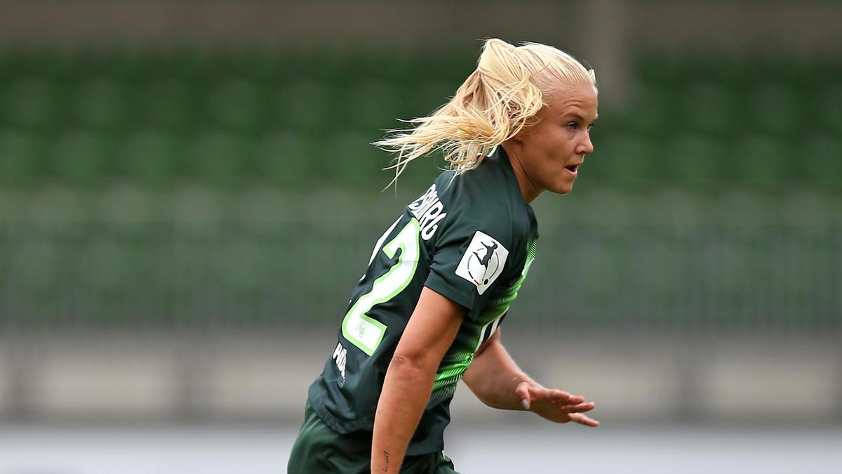 Pernille Harder erzielte drei Treffer für den VfL Wolfsburg