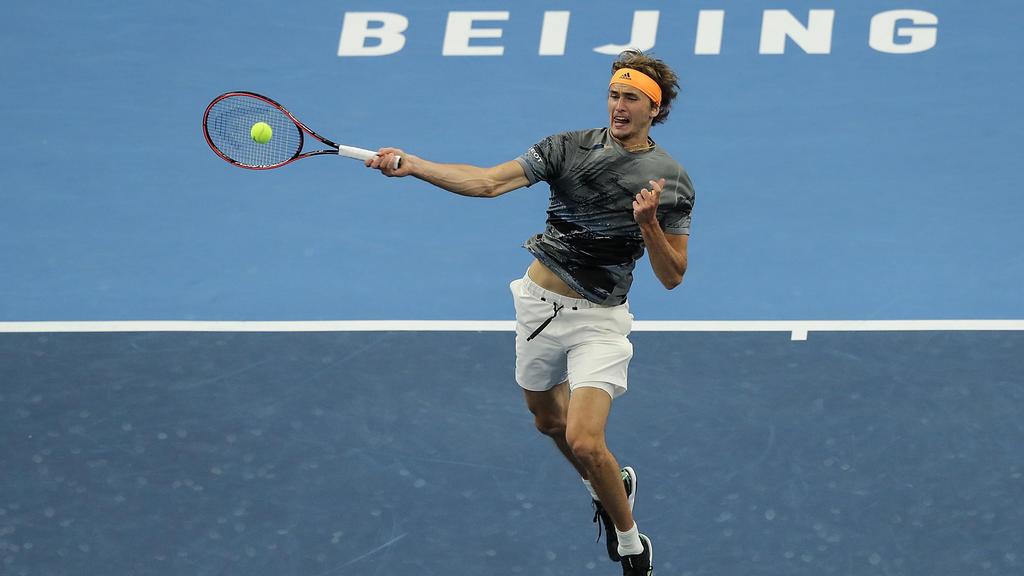 Alex Zverev steht in Shanghai im Viertelfinale