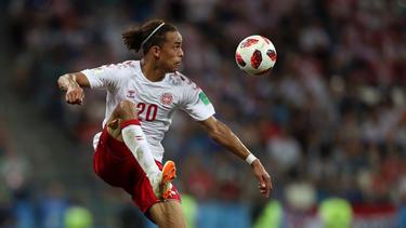 Yussuf Poulsen erzielte den Treffer des Tages