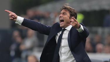 Antonio Conte will auch mit Inter Mailand erfolgreich arbeiten