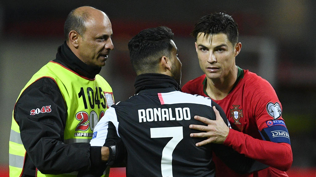 Cristiano Ronaldo ist zur Zeit nicht er selbst