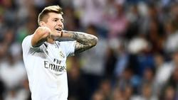 Toni Kroos hadert mit der Punkteausbeute von Real Madrid