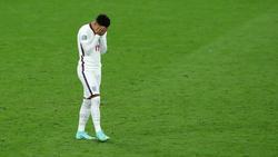 Jadon Sancho verschoss im EM-Finale einen Elfmeter