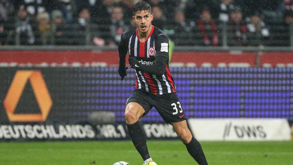 André Silva spielt seit dem Sommer für Eintracht Frankfurt