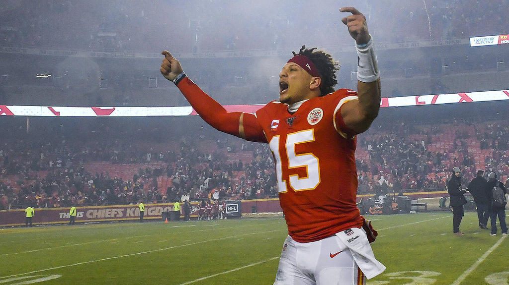 Pat Mahomes und die Chiefs sind einer der großen Super-Bowl-Favoriten