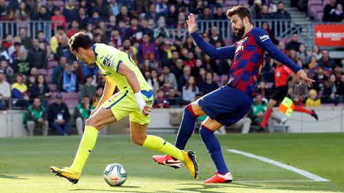 Der FC Barcelona hat einen Sieg gegen Getafe eingefahren