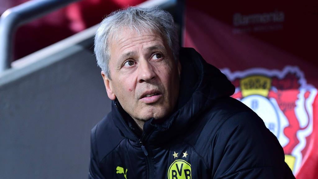 Droht Lucien Favre das Aus beim BVB?