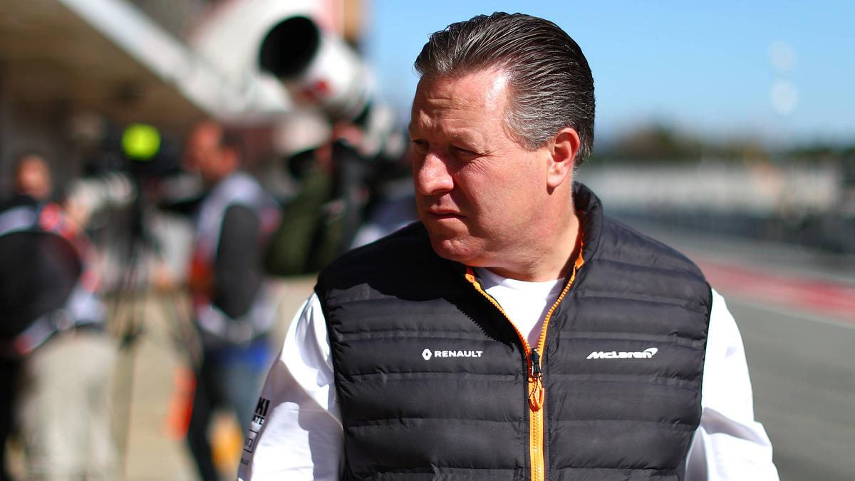 McLaren-Boss Zak Brown ist mit dem Vorgehen von Red Bull nicht einverstanden