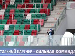 Die Fans in Weißrussland bleiben den Spielen fern