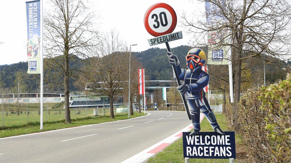 Der Grand Prix von Österreich wird ohne Fans ausgetragen