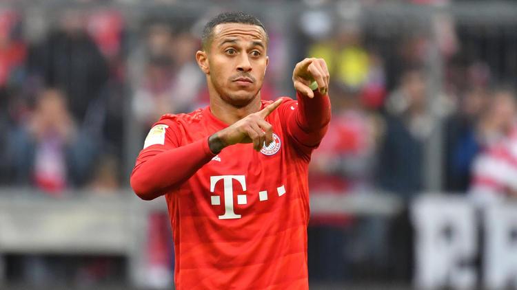 Bayern Münchens Thiago wird mit dem FC Liverpool in Verbindung gebracht