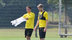 Mario Götze und André Schürrle spielen nicht mehr länger für den BVB