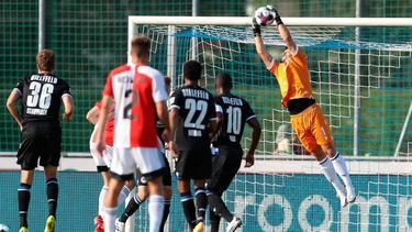 Bielefeld spielte gegen Feyenoord 0:0