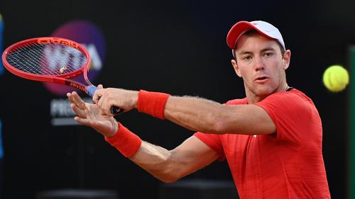 Koepfer unterlag dem Weltranglistenersten Djokovic