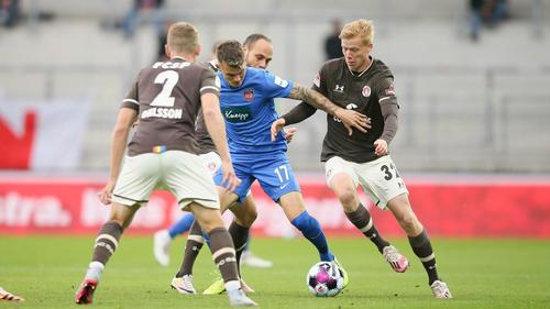 Dem FC St. Pauli gelang ein Heimsieg gegen den 1. FC Heidenheim