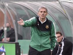 Rapid-Coach Dietmar Kühbauer gibt sich gelassen
