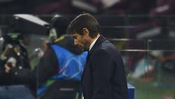 Conte volvió a mostrar su vehemencia en la zona técnica.