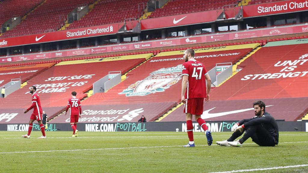Der FC Liverpool musste sich dem FC Fulham geschlagen geben