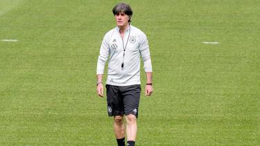 Bundestrainer Joachim Löw wäre beinahe in Madrid gelandet