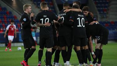 Jubel beim DFB-Team bei der U21-EM