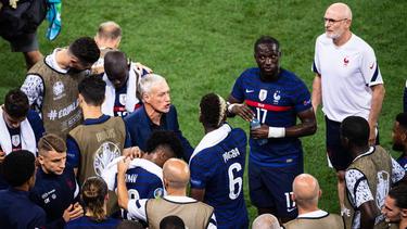 Frankreich ist bei der EURO 2021 im Achtelfinale gescheitert