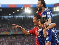 Freude beim FC Basel