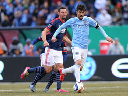 David Villa erzielte gegen New England sein erstes Tor in der MLS