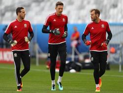 Auch wenn die Konkurrenz schon auf den Startplatz schielt, Wales-Keeper Wayne Hennessey will gegen England spielen