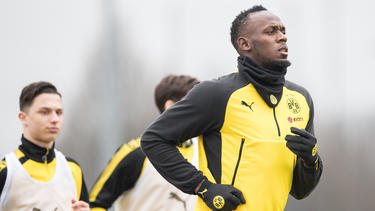 Bolt hatte zuvor unter anderem beim BVB mittrainiert