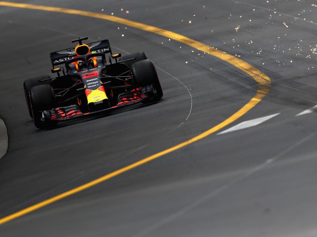 Daniel Ricciardo und Red Bull dominieren auch das zweite Training in Monaco