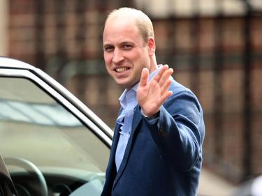 Prinz William ist der Präsident des englischen Fußballverbands FA